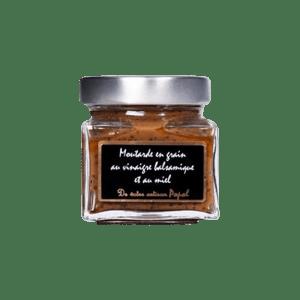 Moutarde balsamique au miel