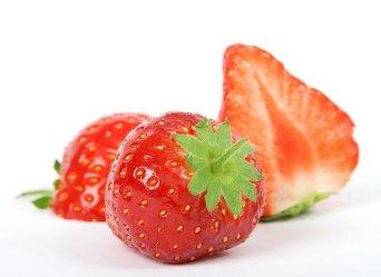 fraise coupée
