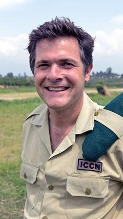 Caption Emmanuel de Merode / Amanda Jones /Emmanuel de Merode, Virunga National Park's director, has vigorously protected the park and its animals and opposes drilling for oil in the area. In April he was ambushed and shot four times, but survived.