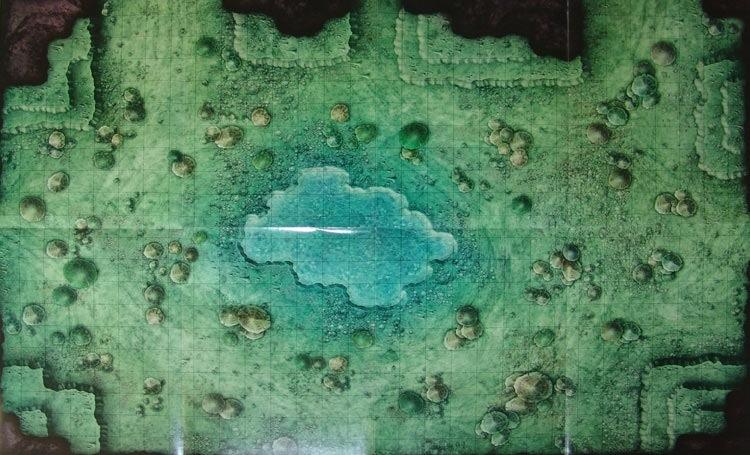 Fungal Lake Dead-Drop