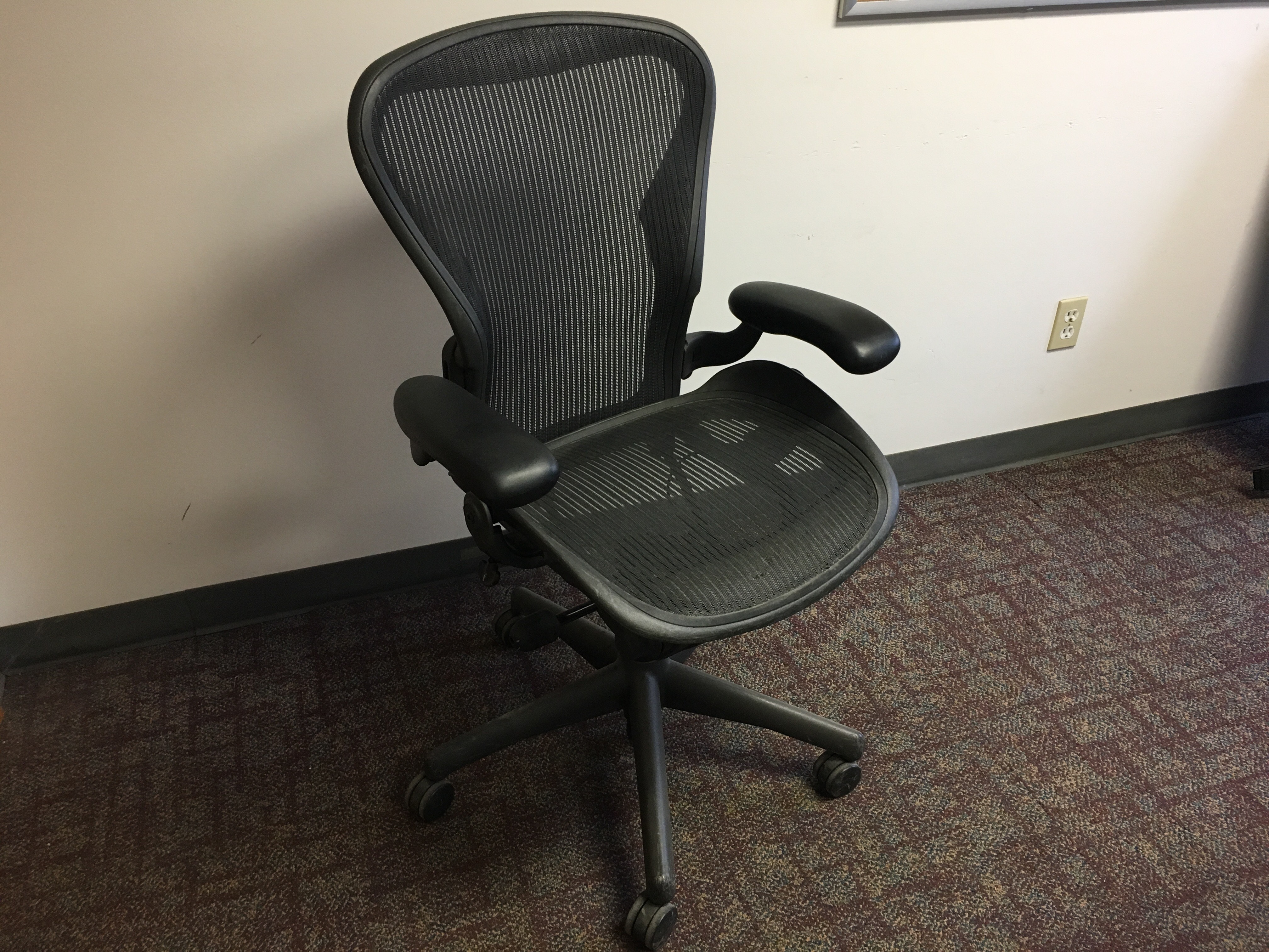 aeron chair accessories knoll regeneration review herman miller capital choice office furniture