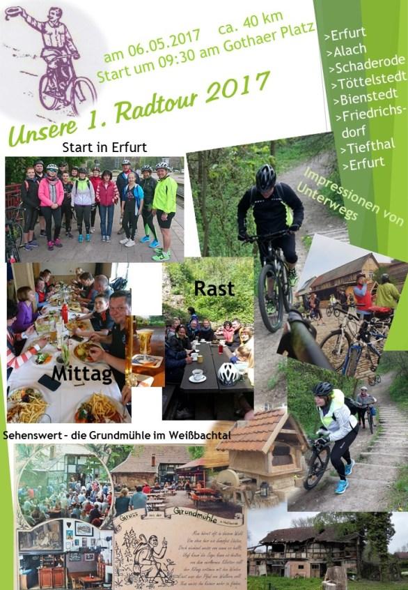 1 Radtour 2017