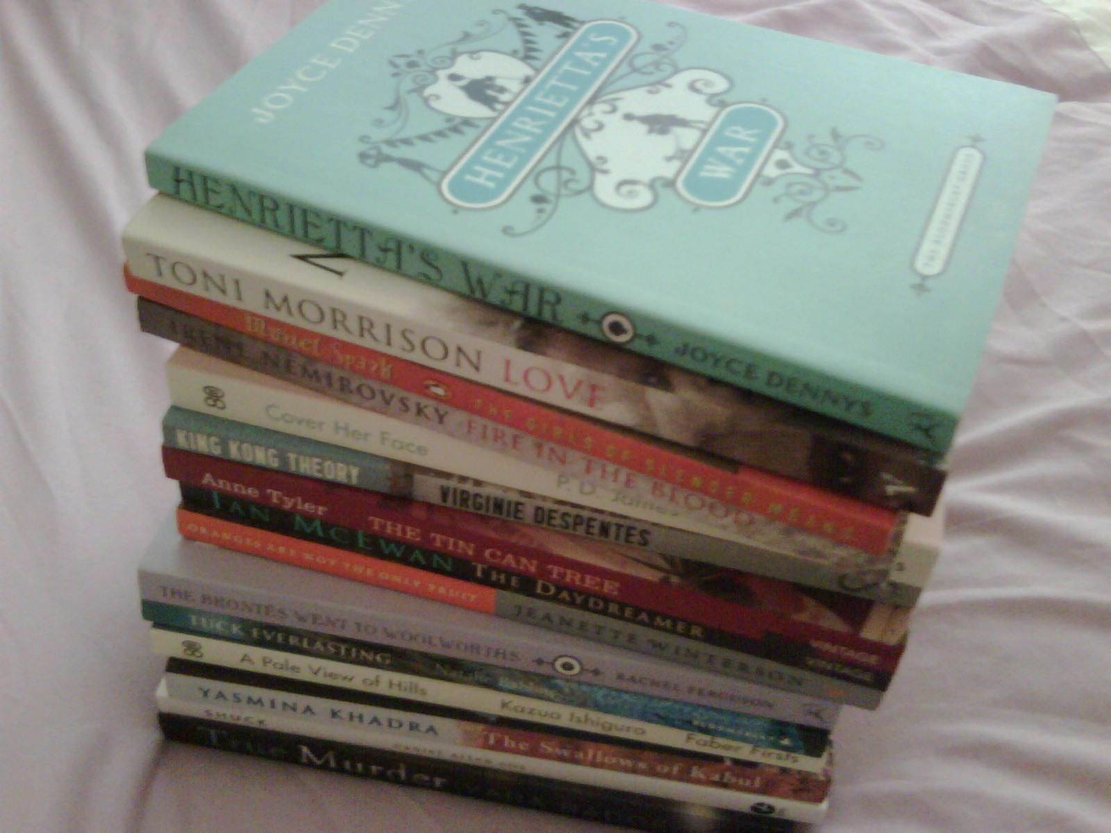 A few short novels...