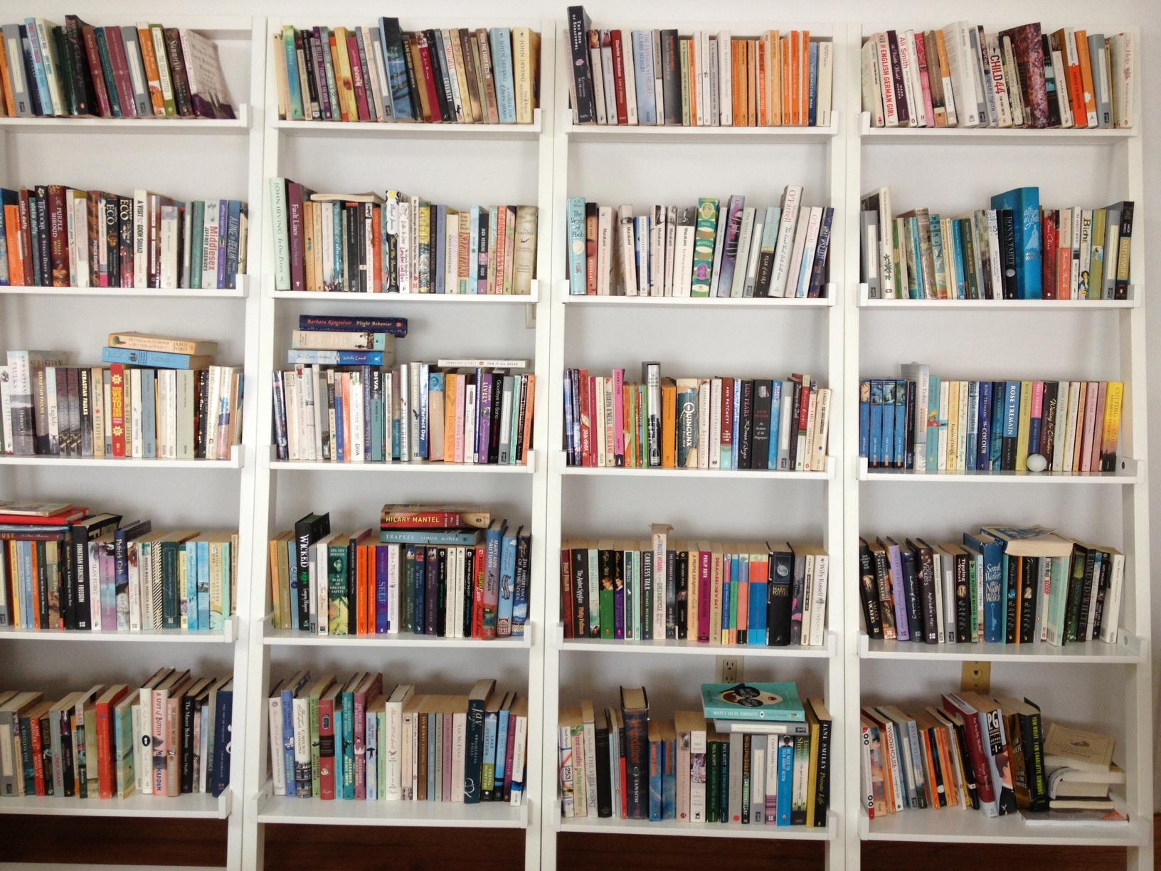 Other People's Bookshelves #14  Roz Campion  Savidge Reads