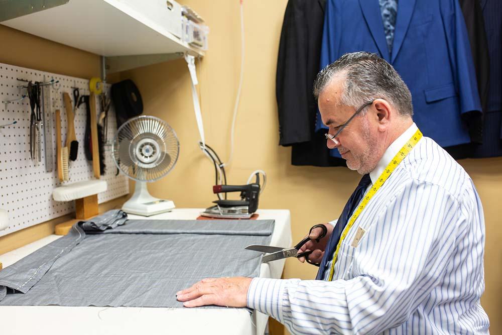 Savile Row Custom Clothiers tailor