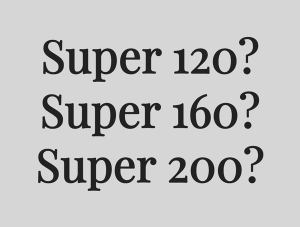 When it Comes to Wool, Know the Super Number