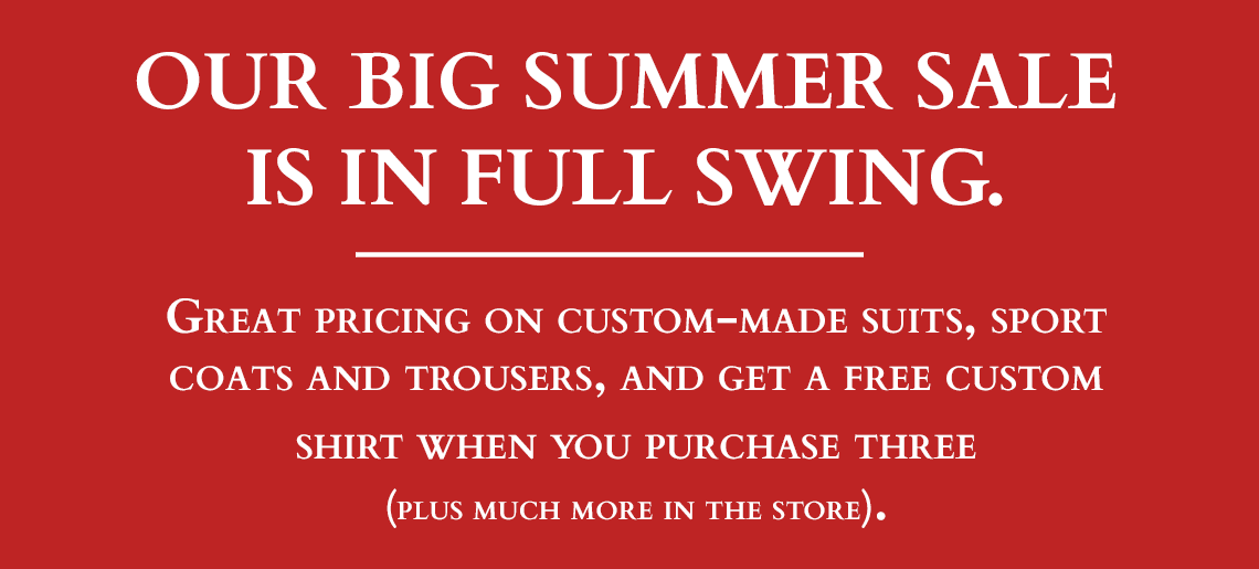 Our Big Summer Sale is in Full Swing