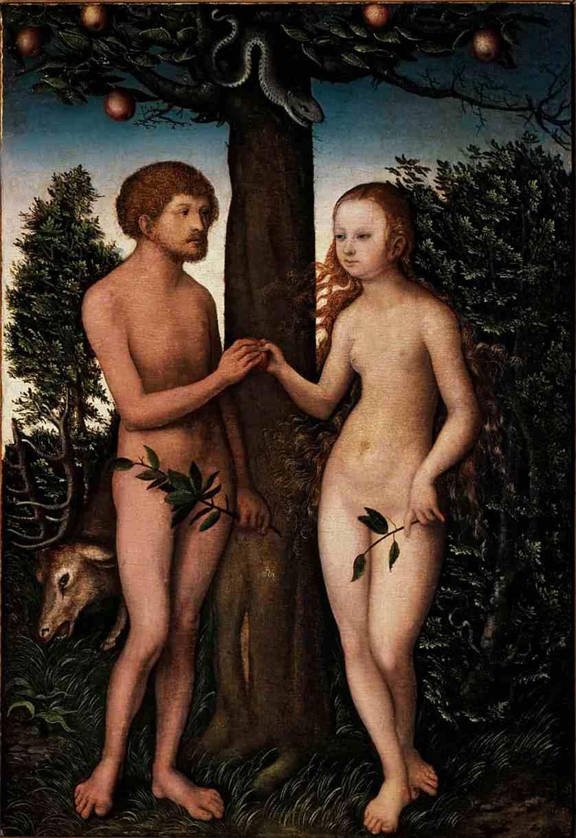 Adán y Eva, 1530