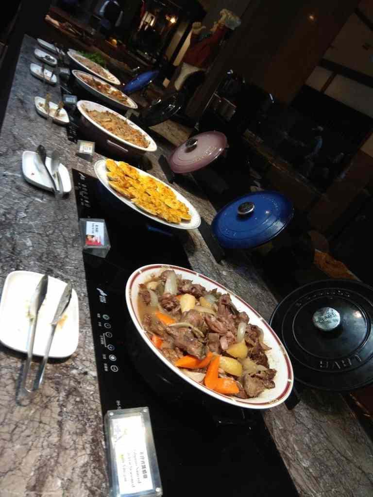 台北福華大飯店彩虹座自助餐吃到飽Rainbow Terrace-1000元有找buffet好選擇-熟食區