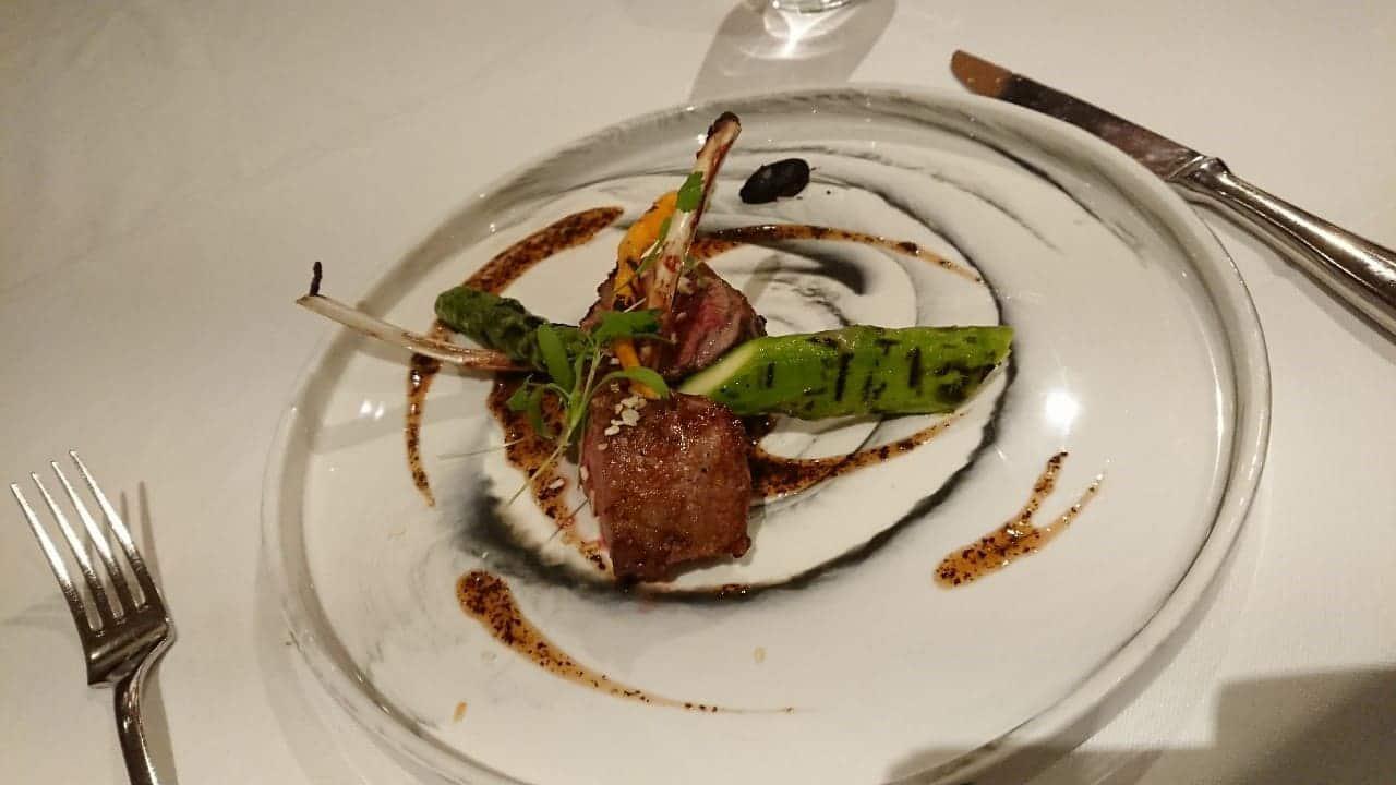 華國牛排館-主菜-紐西蘭小羔羊排