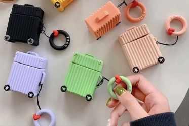 【AIRPODS】airpods行李箱耳機保護套