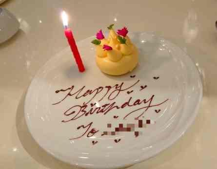文華cafe 生日慶祝贈送小蛋糕