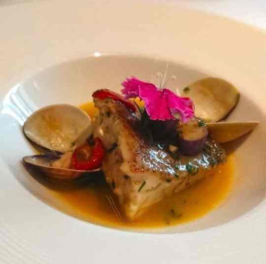 GMT義大利餐廳主菜-地中海式鮮魚排