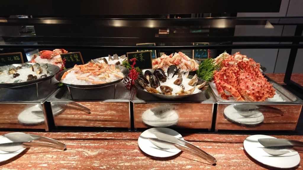 文華 cafe semi buffet  海鮮區