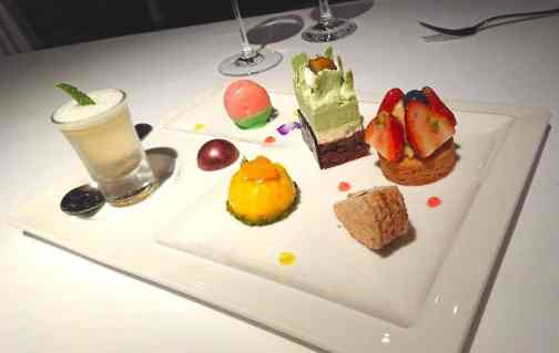 歐華酒店 歐麗法式甜點盤