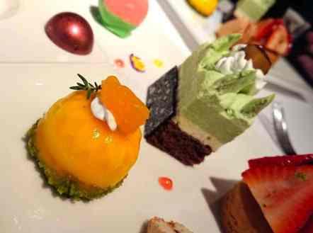 歐華酒店 甜點盤