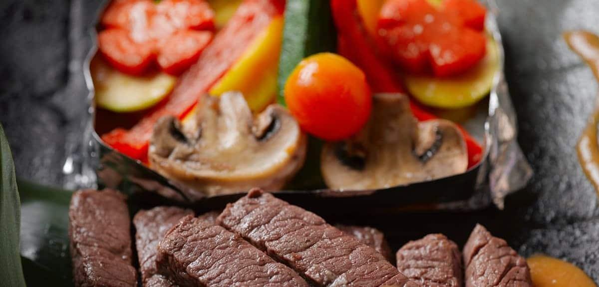 歐華酒店 地中海牛排館用餐心得-今天的下午茶吃牛排!