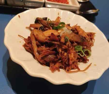 享鴨 開胃夥伴:香炒百菇冷盤