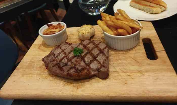 Da Antonio 大安東尼義大利餐廳 炭烤美國頂級肋眼牛排 12 盎司佐松露薯條