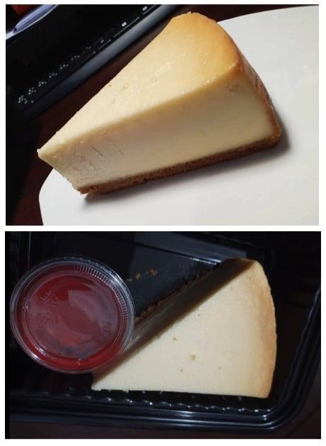 香濃滑順的紐約起司蛋糕搭配草莓醬