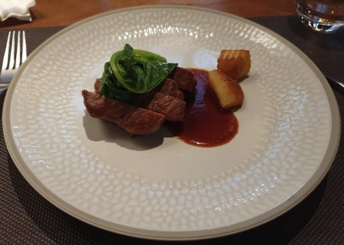 Fresh & Aged Italian steak house 美福乾式熟成牛排館 爐烤美國頂級肋眼菲力牛排