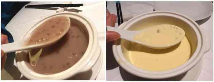 潮品集芋頭西米露(熱)跟芒果西米露(冰)