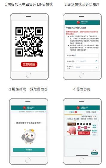 Uber 用戶成功綁定「中國信託 LINE 個人化服務」立即獲得一張【莫凡彼】雙球冰淇淋買一送一券 (最高省 NT$210),活動到109/11/30