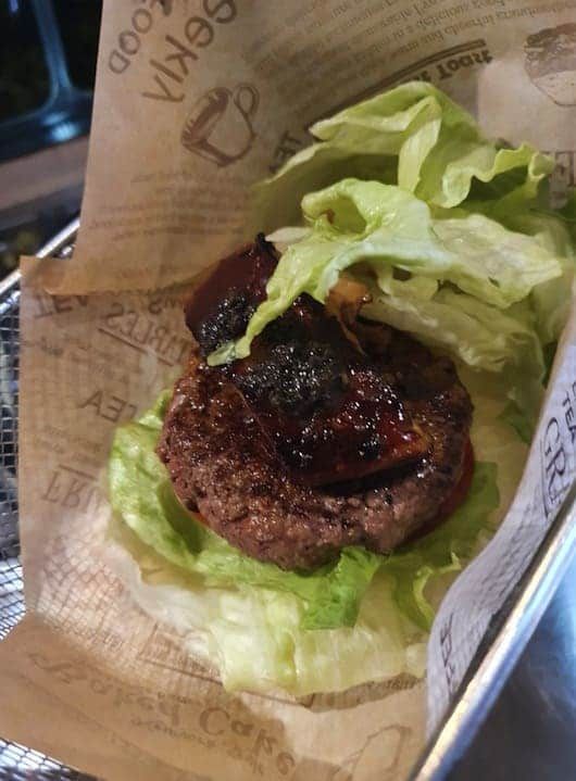 burger ray 心臟病堡