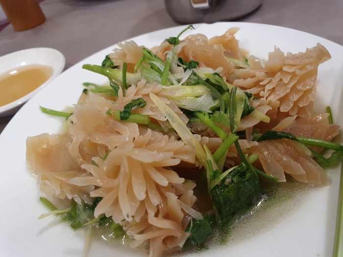 天廚菜館 塩爆魷魚