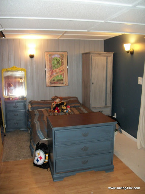 Basement Bedroom  Teen Boy