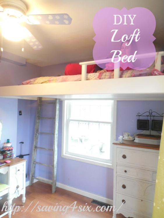 diy bedroom loft
