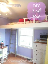 diy bedroom loft