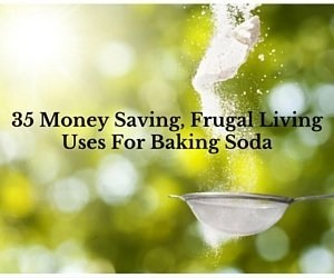 35 Money Saving, Frugal Living Uses For Baking Soda