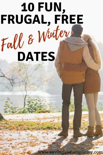 Are you looking for an awesome free or cheap date night? 10 fun, frugal, fall and winter date ideas to help keep the romance alive.