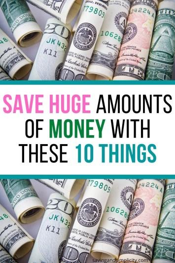 save huge amounts of money
