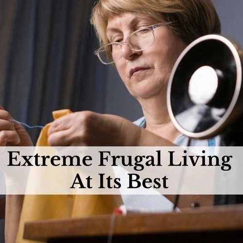Extreme Frugal Living At Its Best