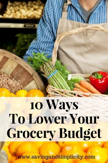 Lower your grocery budget and save money. Learn what the grocery store does to make you spend money. Tips to lowering your grocery budget. Get more for less