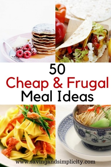 Are you stuck on what to make for dinner? How does cheap, frugal yummy meals sound? Meals that will satisfy your family and save your wallet. Frugal meals.