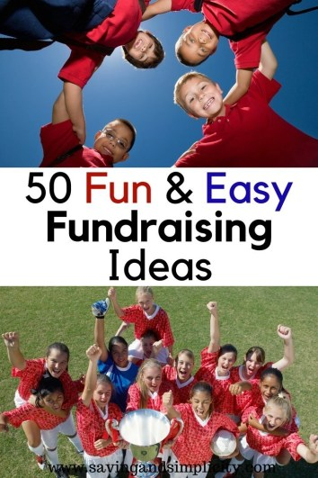 Fun And Easy Fundraising Ideas Saving Amp Simplicity