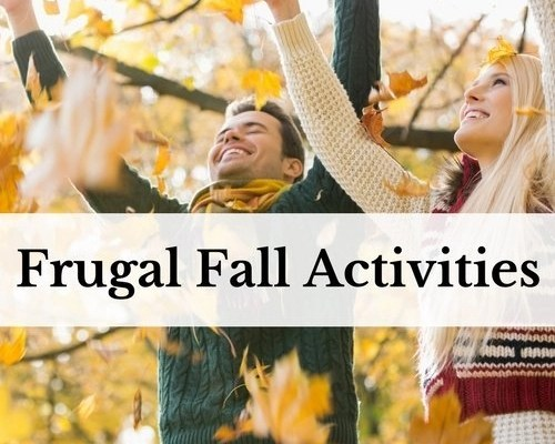 Frugal Fall Activities