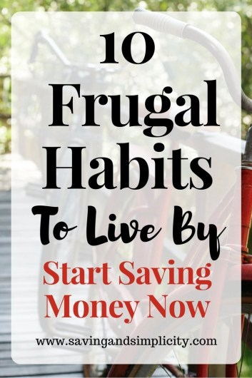 You weren't taught this in school. Learn about saving money and living frugally. Learn how to lower your expenses. Frugal habits you can use right now.