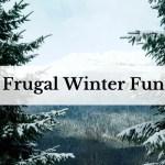 Frugal Winter Fun