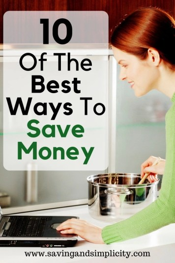 Some of the best ways to save money are the easiest and the most overlooked. 10 ways to save you money right now. Stop stressing and start saving money.