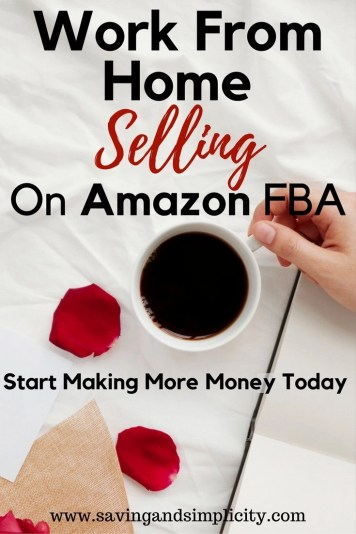 Work from home selling online on Amazon FBA and make money. Support your family, pay your household expenses. Make a great income. Set your own hours.