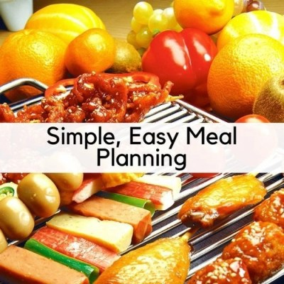 Simple Easy Meal Planning