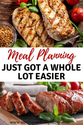 Are you short on time when it comes to planning and preparing dinner?Eating better and meal planning just got a whole lot easier. Learn how to prepare easy delicious home cooked meals. Save money, eat healthy and stress less.