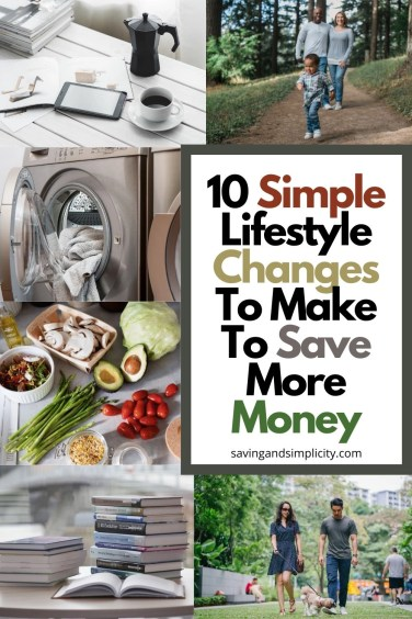 simple changes save more money