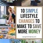 simple changes to save money