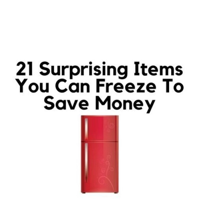 21 Surprising Items You Can Freeze To Save Money