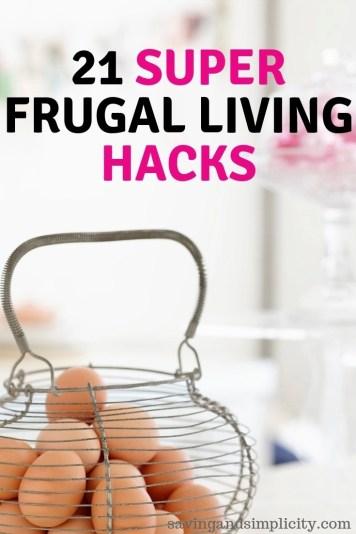 21 super frugal hacks